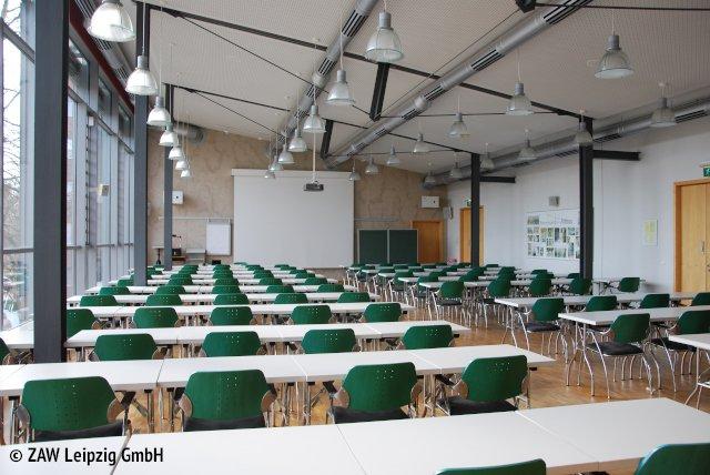 Saal der ZAW Leipzig GmbH